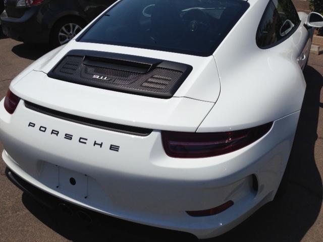 2017 Porche 911R Accu Tint